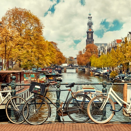 Cycling from Amsterdam