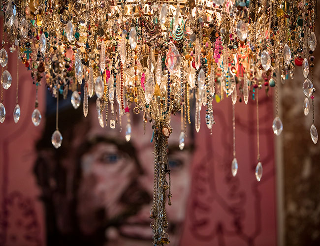 No 15 Great Pulteney, Bath: the lost earring chandelier