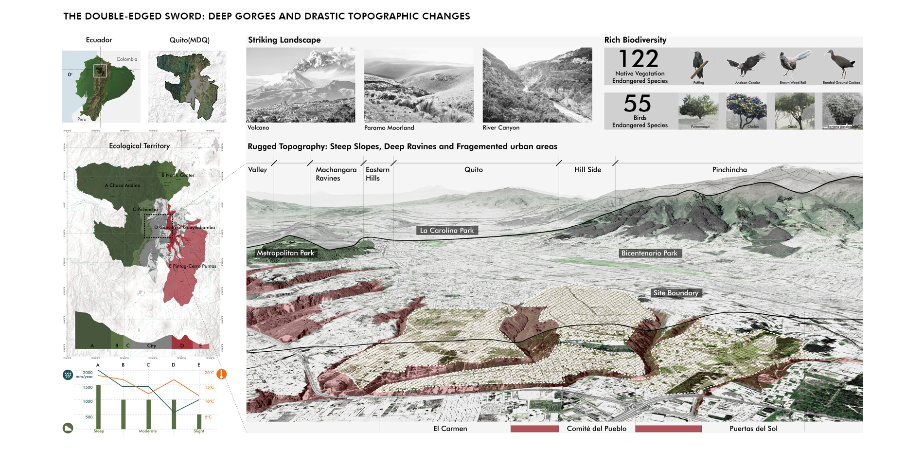 The Double-Edged Sword: Deep Gorges and Drastic Topographic Changes