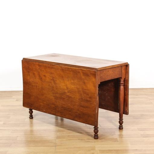 antique gate leg drop leaf dining table loveseat vintage furniture san diego los angeles. Black Bedroom Furniture Sets. Home Design Ideas