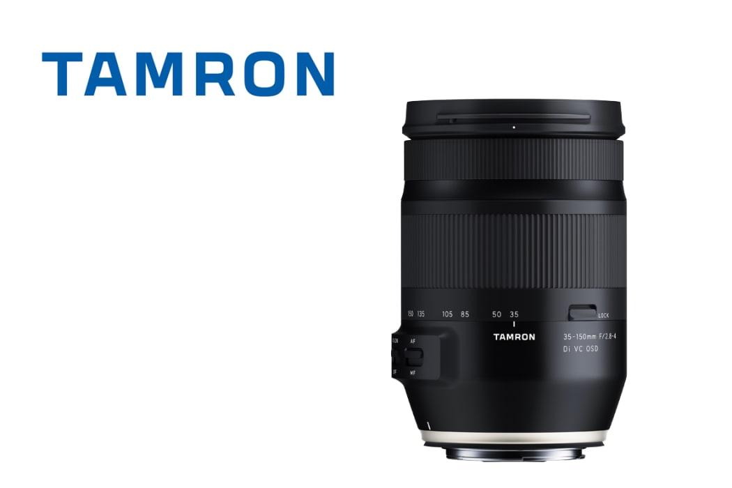 Tamron izlaž novatorisku pilna kadra zoom objektīvu