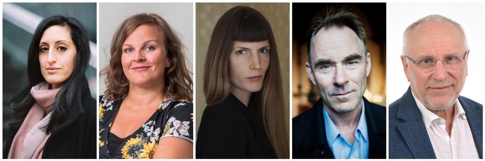 Nisha Besara, Eva Cooper, Helena Granström, Sverker Sörlin, Erik Westholm
