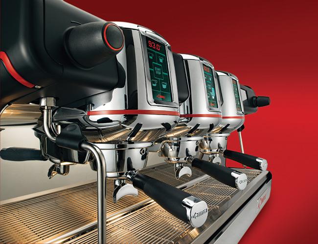 Cimbali M100 espresso machine