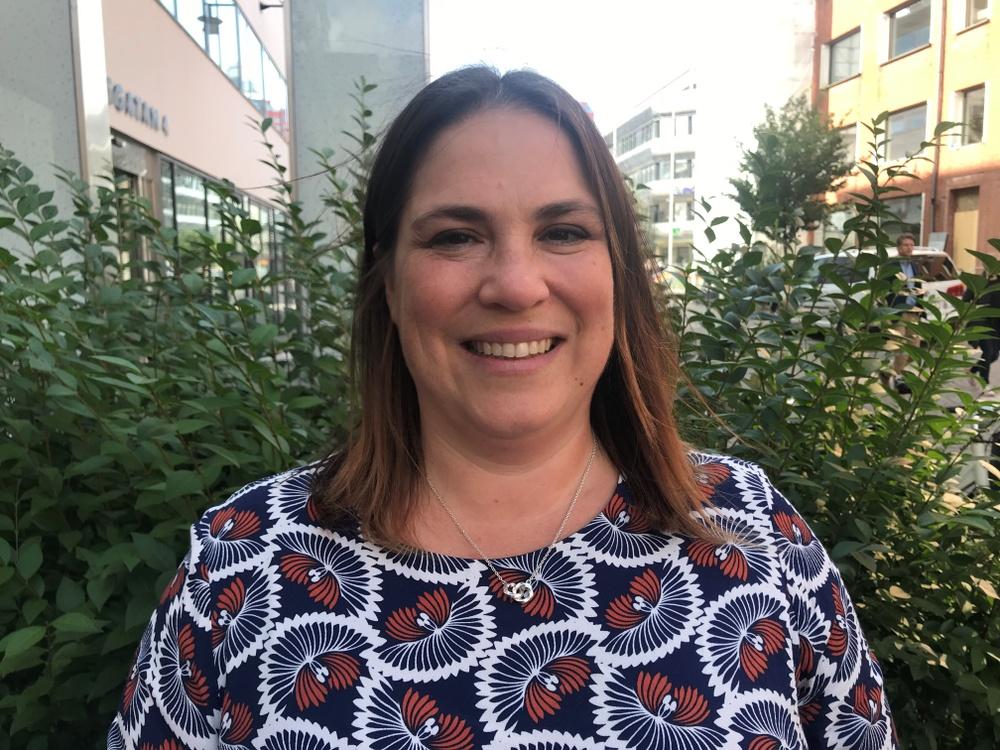 Karin Fällman, hållbarhetschef på Skogssällskapet. Foto: Johanna Holmgren/Skogssällskapet
