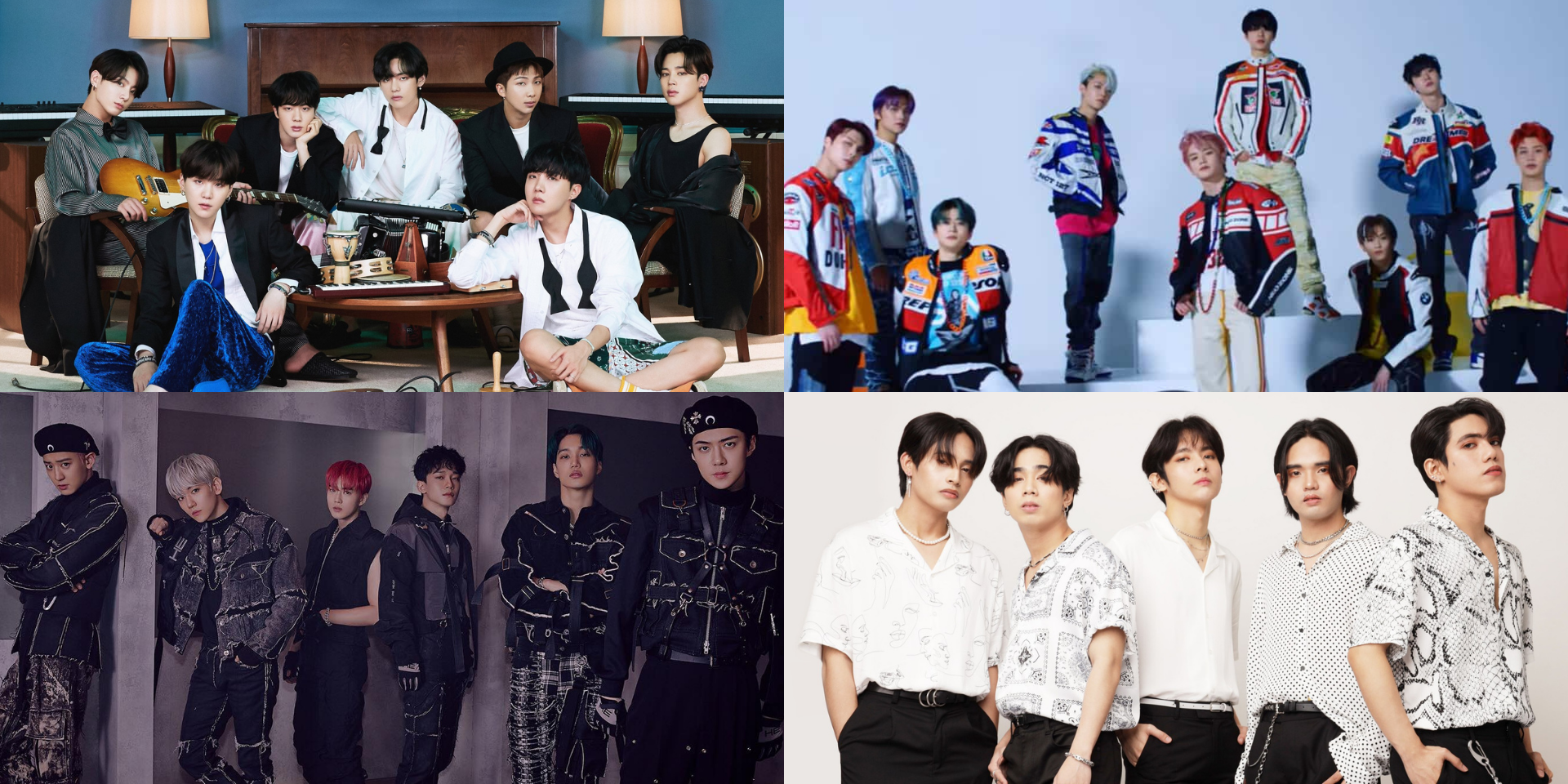BTS, EXO, NCT127, SB19, and more land on Billboard's Top Social 50 Artists of 2020