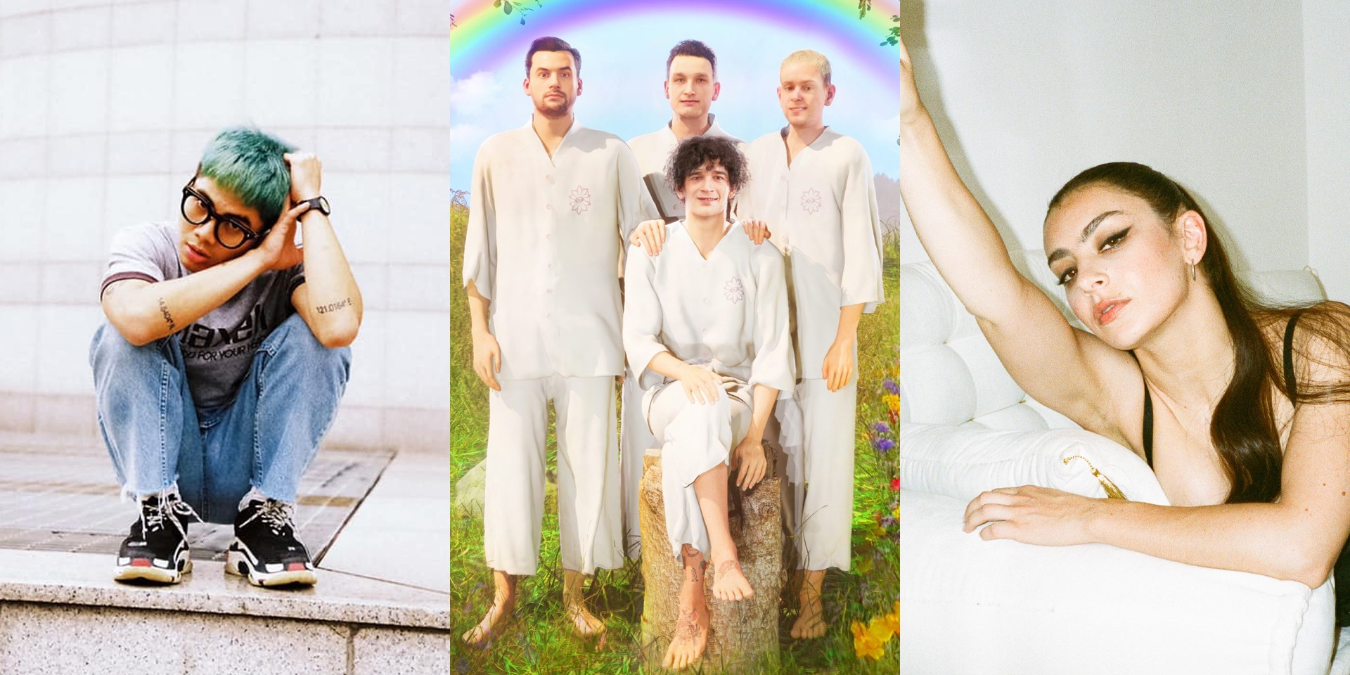 """No Rome, Charli XCX, and The 1975 make """"supergroup"""" debut with 'Spinning' – listen"""