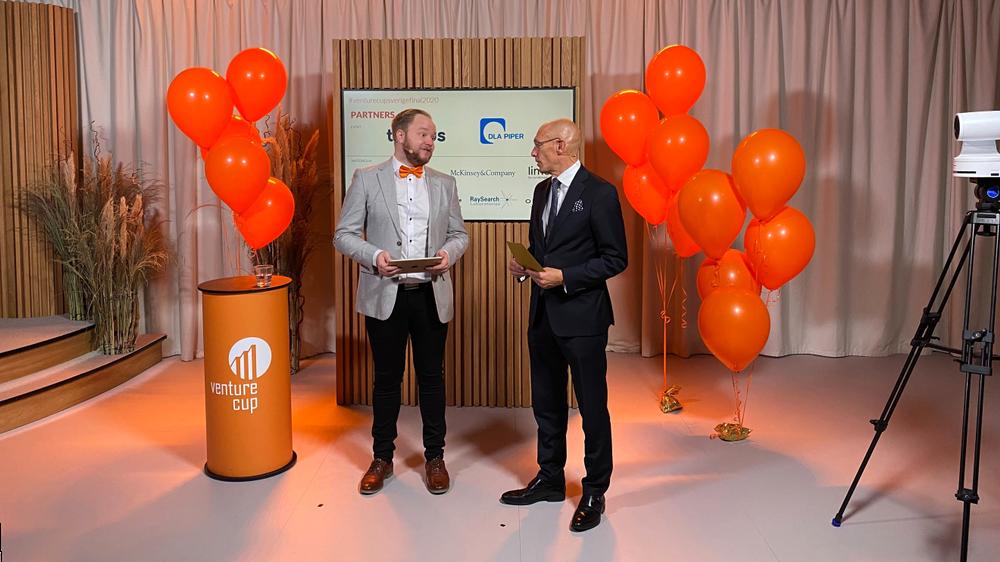 Jonathan Rudman och Stefan Stignas från Studion i SEB.