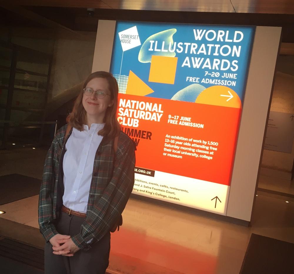 Monika Vaicenavičienė på World Illustration Awards