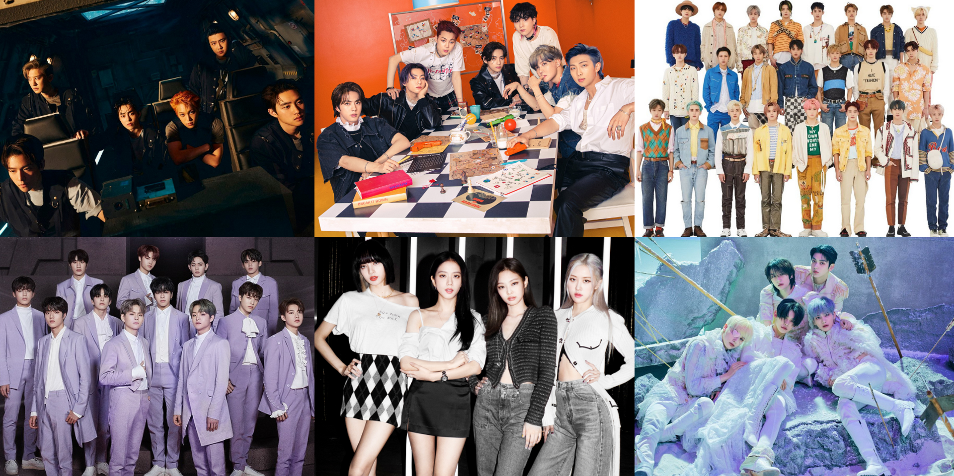 BTS, NCT, BLACKPINK, EXO, TREASURE, TXT, and more are the most-talked-about K-pop acts on Twitter