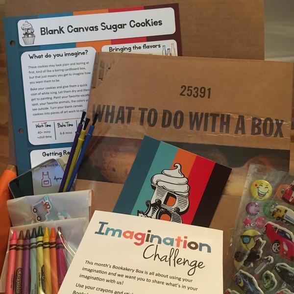 Imagination Bookakery Box - June 2017