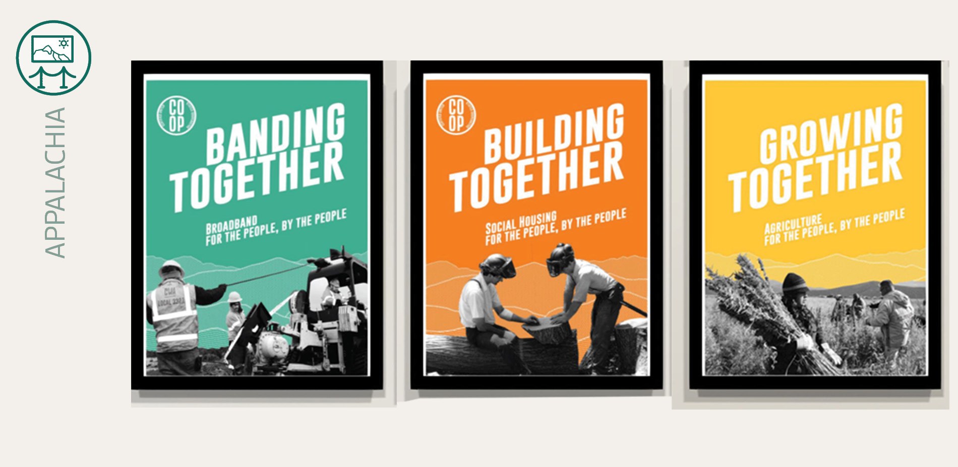 Exhibit: Appalachia Poster Series