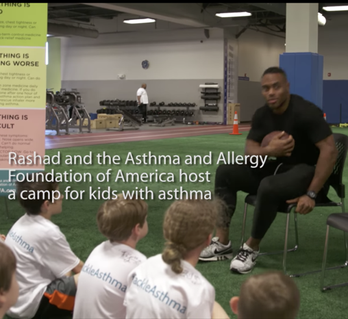 Rashad Jennings Tackles Asthma to Become Pro Athlete
