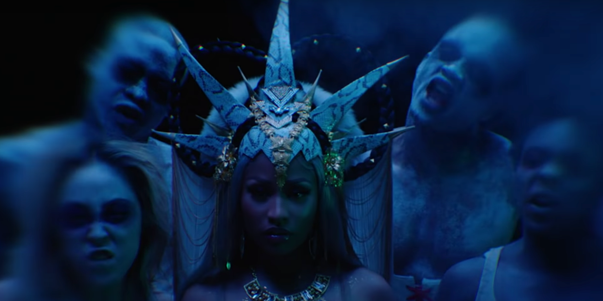 Nicki Minaj shows us who's queen in music video for 'Hard White' – watch