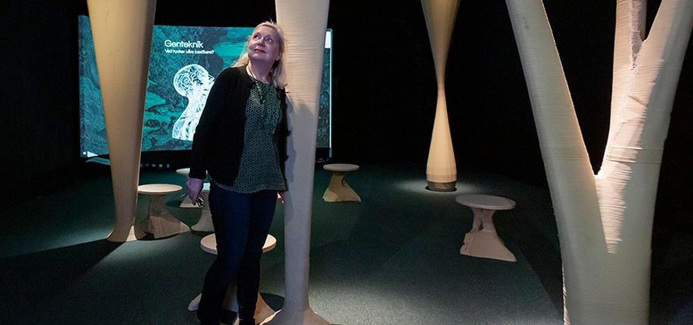 Hyper Human-utställningen på Tekniska Museet i Stockholm. Foto: Anna Gerdén.