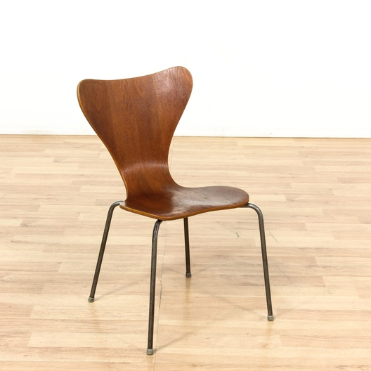 danish arne jacobsen style danish modern chair 3 loveseat vintage furniture los angeles. Black Bedroom Furniture Sets. Home Design Ideas