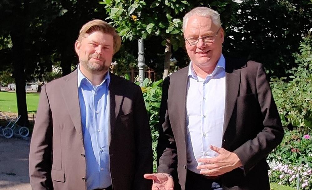 Mika Nilsson och Thomas Sparring