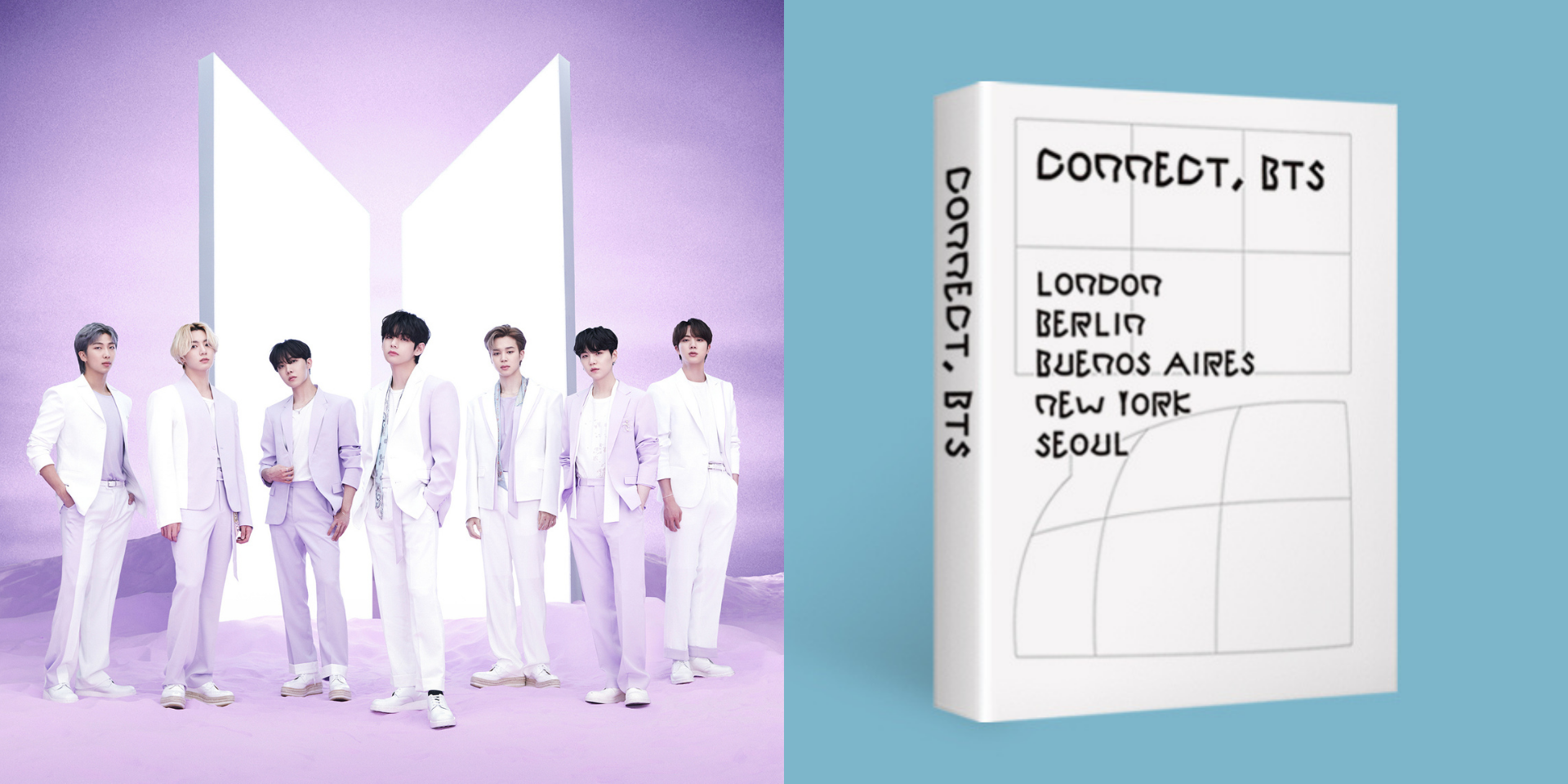 """BTS release free e-book and font for global 'CONNECT, BTS' art project: """"Diversity can create a world where differences can CONNECT us together."""""""