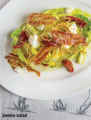 Jamon salad