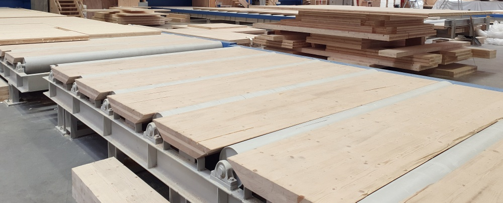 Cross-laminated timber, also known as CLT, is growing in popularity in the construction industry.