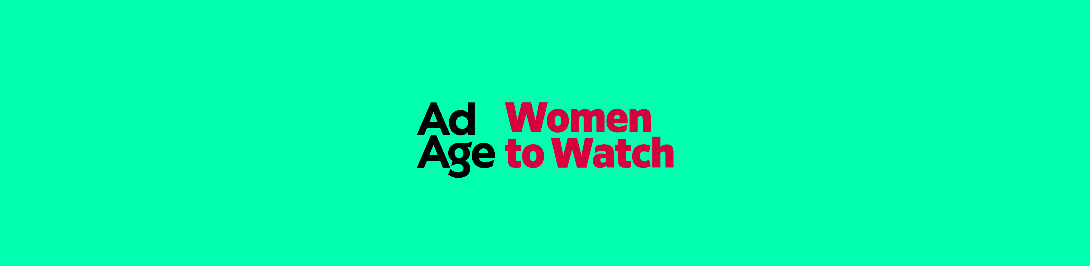 Ad Age Women To Watch
