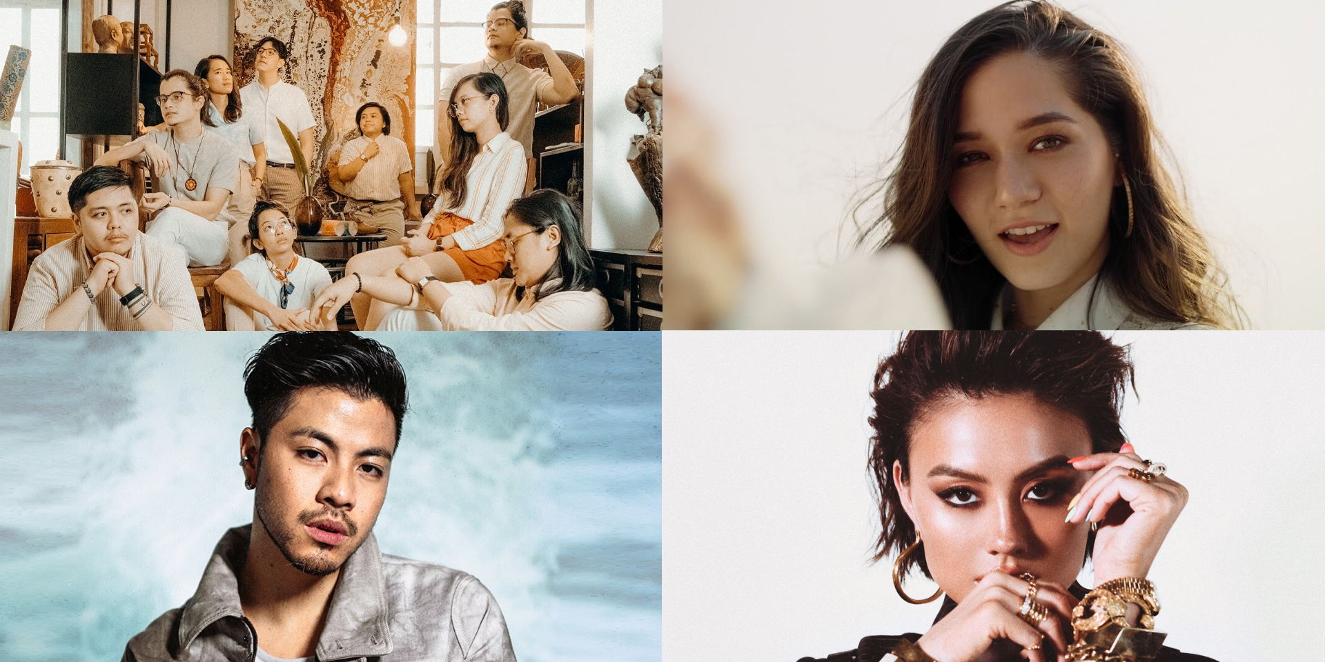 Agnez Mo, Ben&Ben, Benjamin Kheng, Violette Wautier, K-Clique, and more nominated for Best Southeast Asia Act at the 2020 MTV EMAs