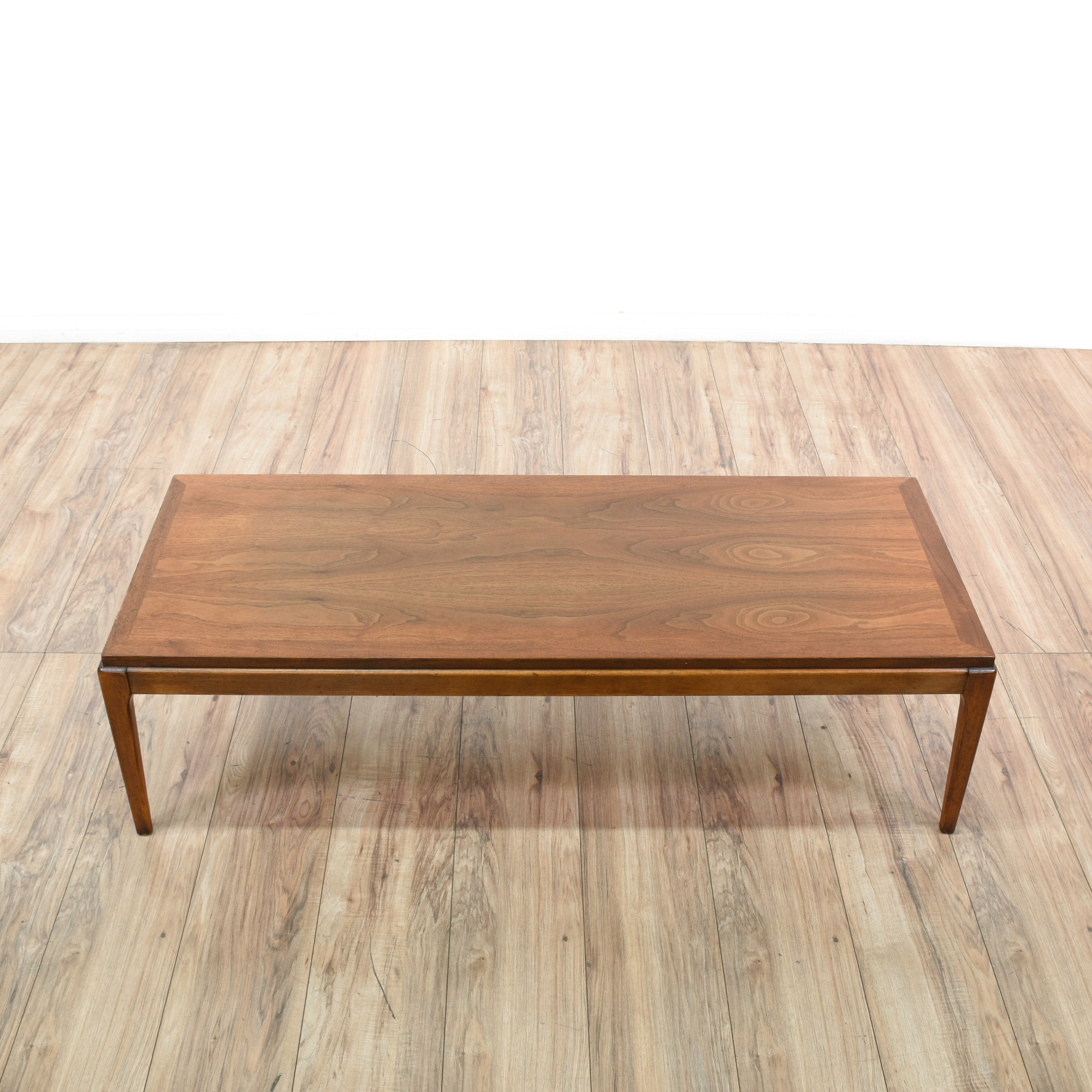 """Lane"" Mid Century Modern Long Coffee Table"
