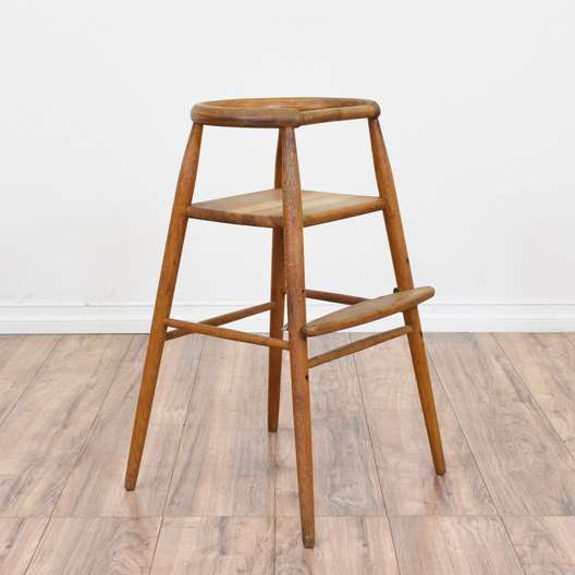 """Nanna Ditzel"" Danish Modern Adjustable Highchair"