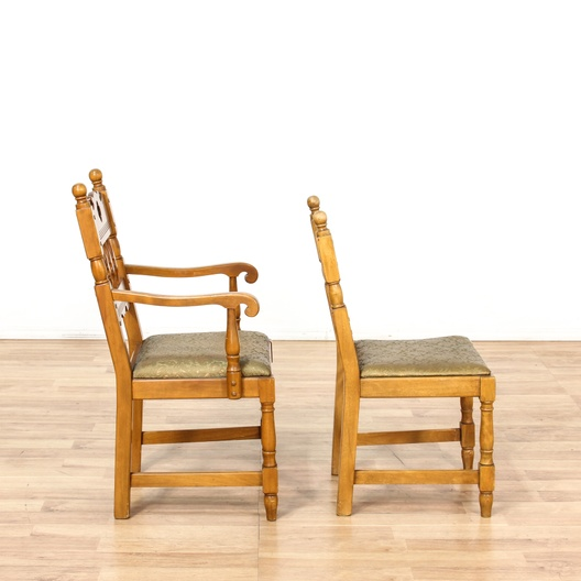 California farmhouse mission style dining chairs