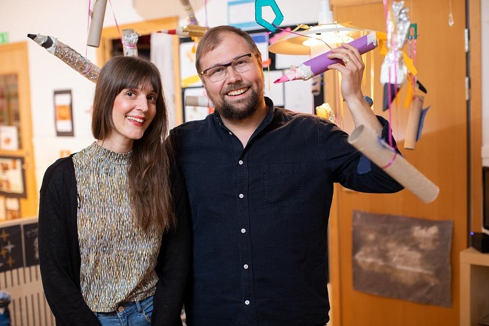 Matilda Ekdahl och Carl Thorell vet hur man utformar en god lärmiljö för barnen