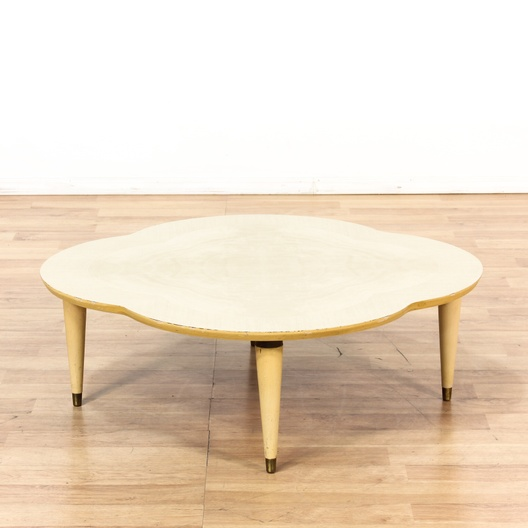 Mid Century Clover Coffee Table