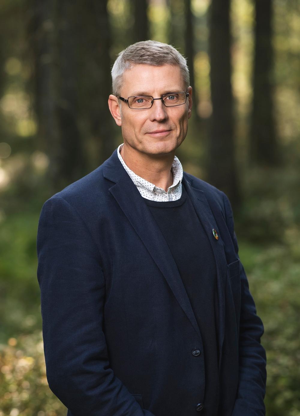 Per Myhrén är projektledare och innovationsrådgivare på Paper Province. Fotograf: Solsta Foto.