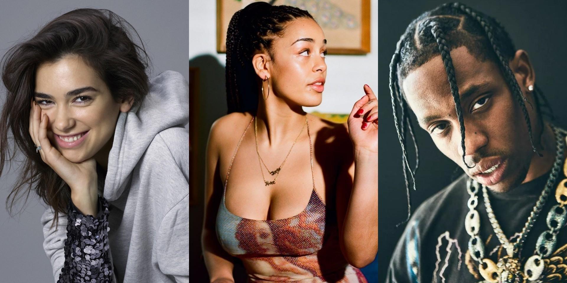 Dua Lipa, Jorja Smith, Travis Scott and more nominated for 2019 BRIT Awards