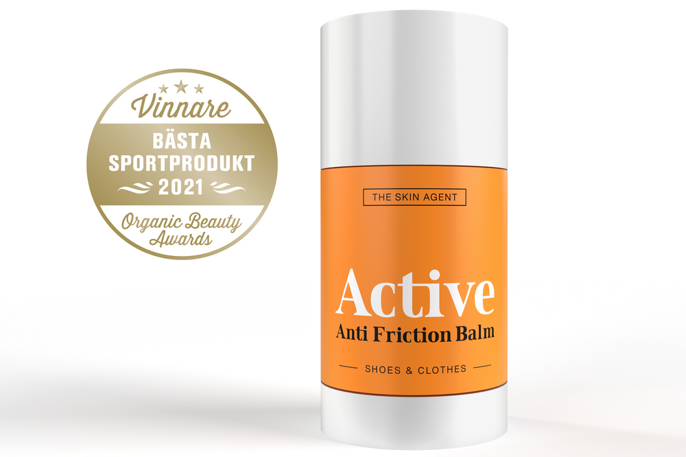 Active Anti Chafe Balm named Best Sportsproduct 2021 in Organic Beauty Awards
