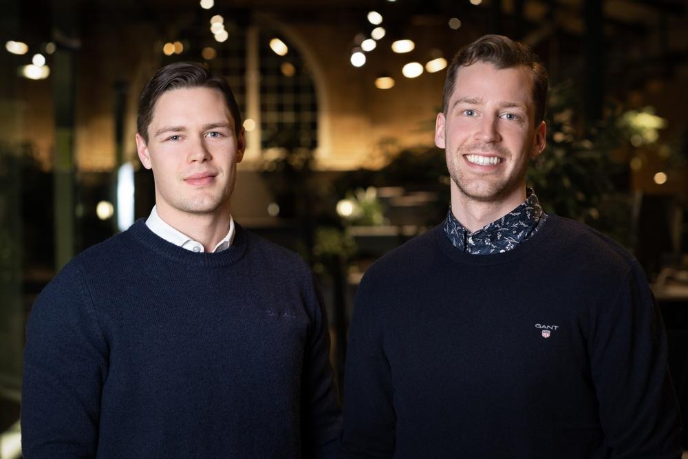 Petter och Jesper Aasa,  grundare av tjänsten Vitala
