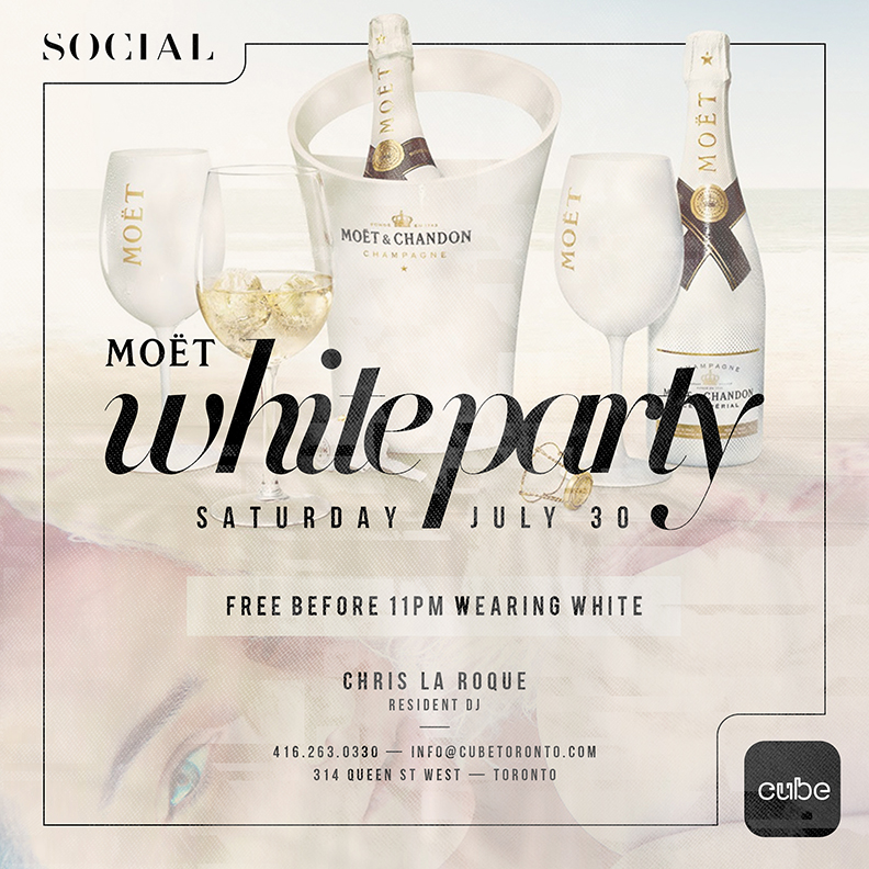 Moet White Party