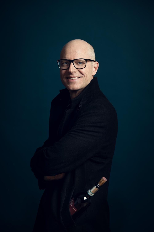 Författarporträtt: Anders Melldén  Foto: Sören Vilks
