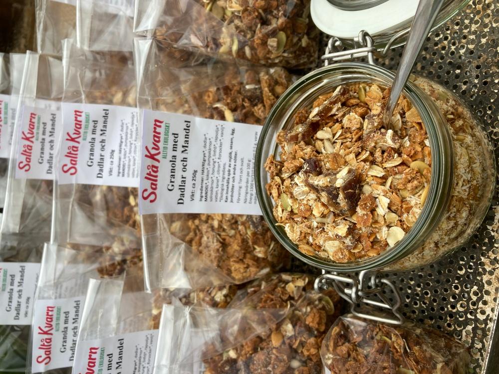 Saltå Kvarns ekologiska granola