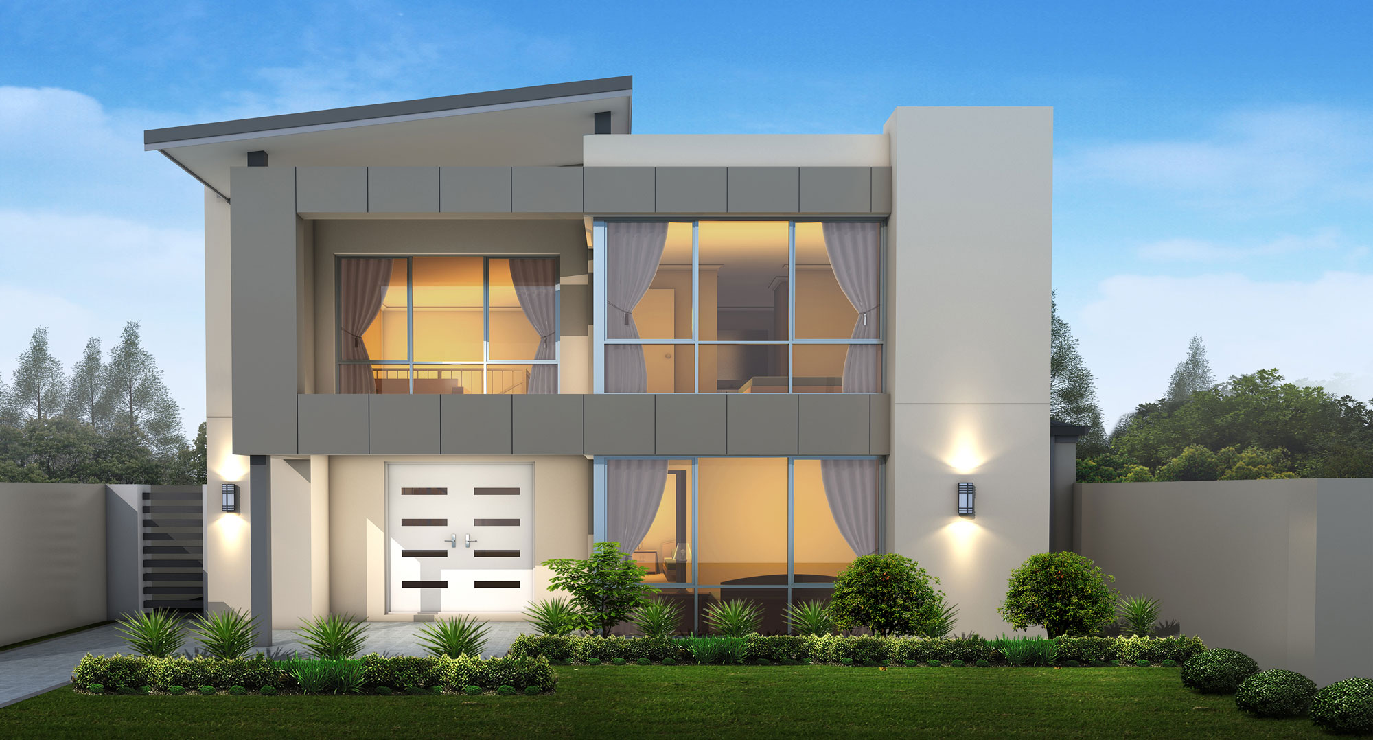 Contemporary Modular home design by Great Living Homes
