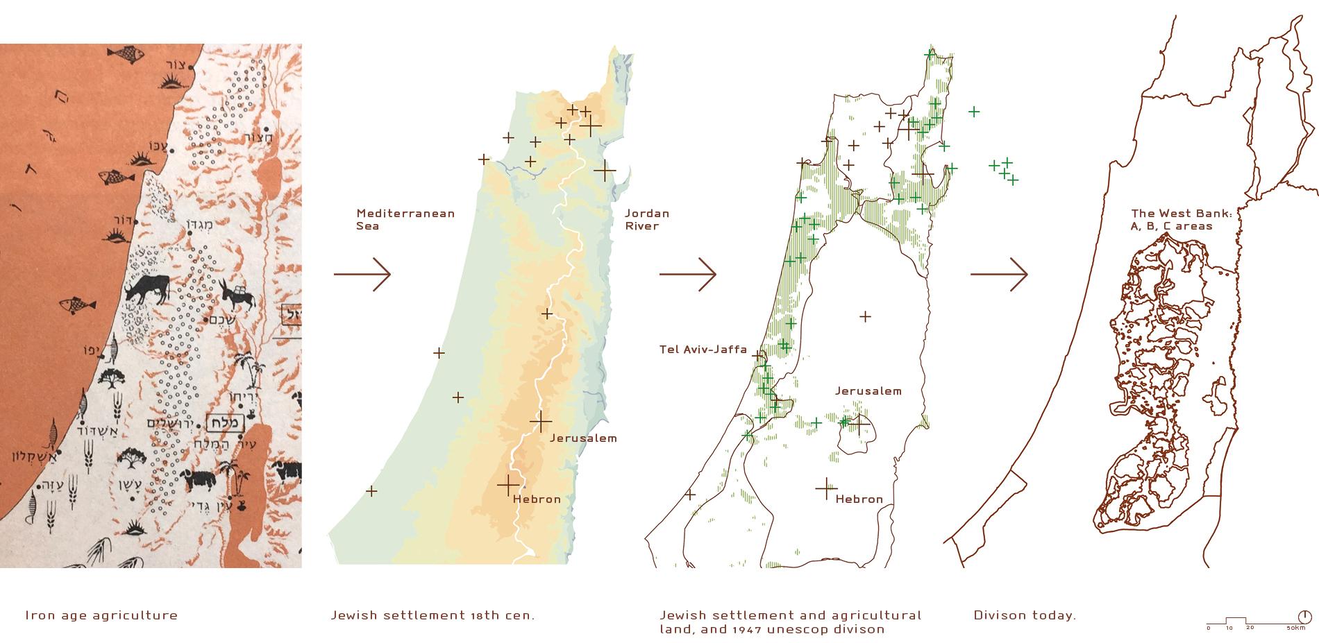 1.1. Geopolitical landscape - historical background - settlement by landscape.