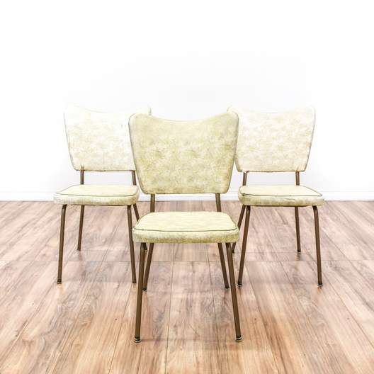 "Set of 3 ""Virtue"" Mid Century Modern Chairs"