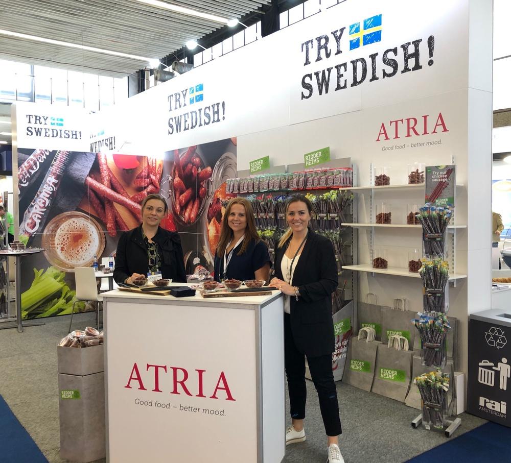 Atria Export på PLMA