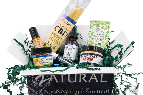 Zatural CBD Premium 300MG Subscription Box
