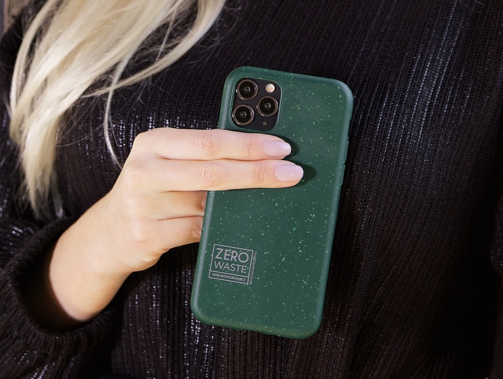 tech accessories made from biodegradable materials