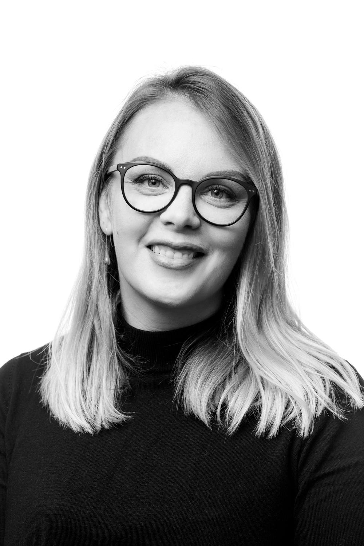 Kalina Wallenberg, marknadschef på Västerbottensteatern.  Foto: Patrick Degerman.