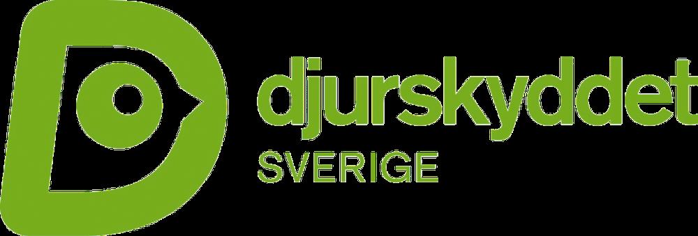 Djurskyddet Sveriges logotyp i grönt (RGB) som PNG-fil.