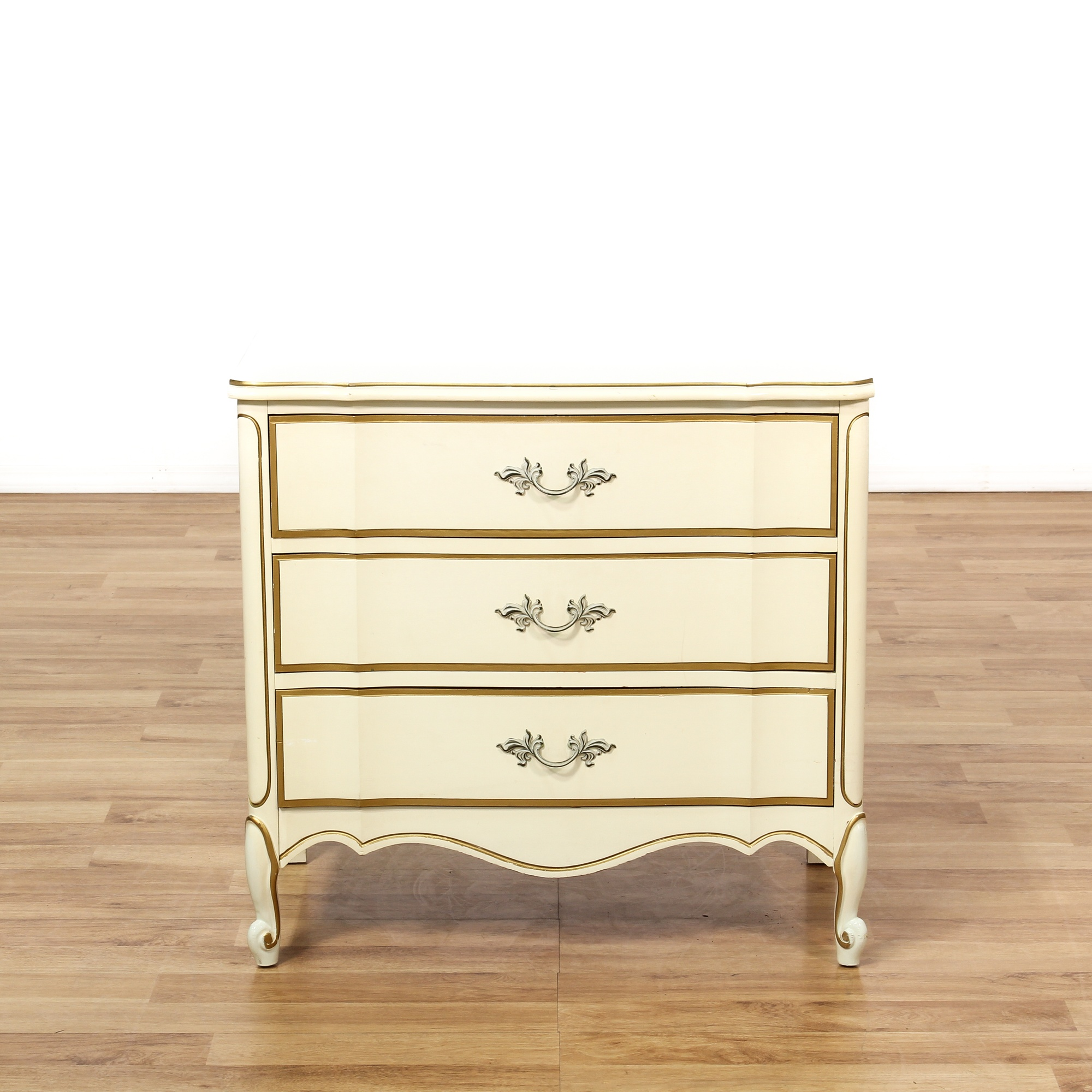 Quot Dixie Quot French Provincial Cream Nightstand Loveseat