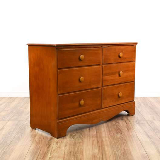 Country Chic Cherry Chest of Drawers