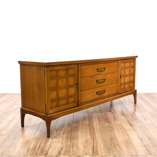 """United Furniture Corporation"" Long Dresser"