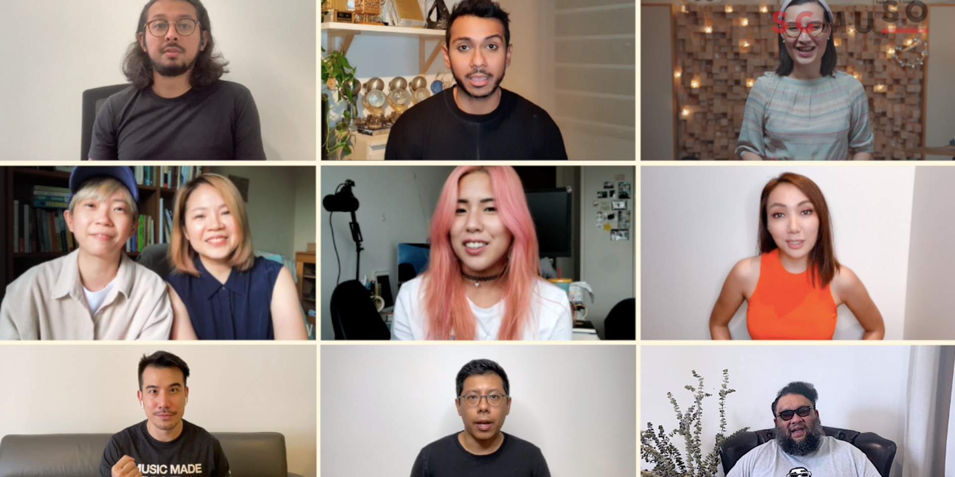 Taufik Batisah, Joanna Dong, Shabir, and more call for support for Singaporean music personnel in SGMUSO initiative
