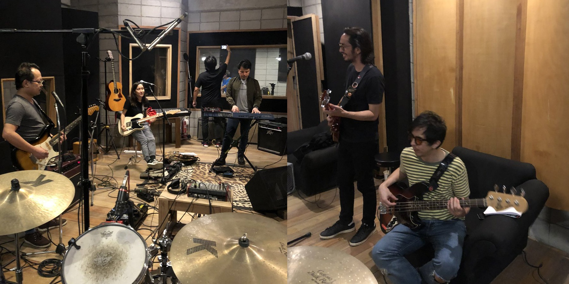 These six Filipino rock icons just turned a Twitter convo into a 5-hour U2 jam session and a secret show
